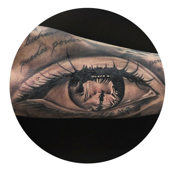 tattoo realista ojo